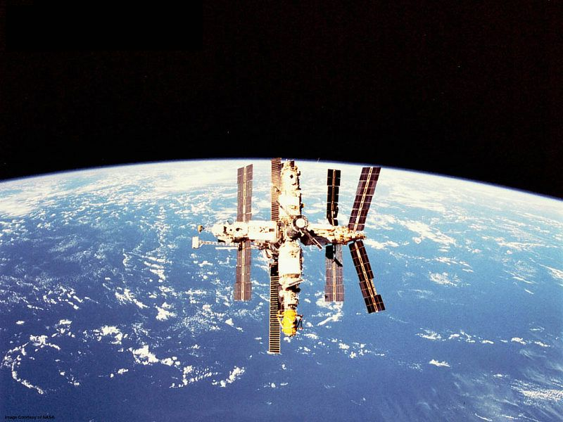Video Mir Space Station Mirs_space_station